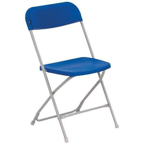 McCourt Folding Blue Chair